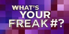 Steve Harvey Show | What's Your Freak Number?