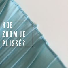 Hoe zoom je Plissé stof? Techniques Couture, Sewing Techniques, Sewing Clothes, Diy Clothes, Sewing Hacks, Sewing Projects, Sewing Tips, Serger Sewing, Tips & Tricks