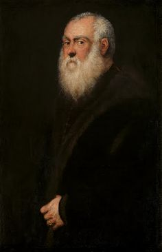 Man with a White Beard - Jacopo Robusti,called Tintoretto — Google Arts & Culture