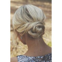 45 Updos For Thin Hair That Score Maximum Style Point ❤ liked on Polyvore featuring beauty products, haircare and hair styling tools