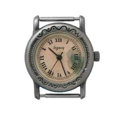 Hand Painted Dial Western Watch Face_14mm ... H26P - Final Sale