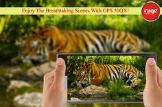 Enjoy the Breathtaking Scenes with OPS 50QX!  #OptimaSmart #SmartPhone #RageMobiles   Know more: http://goo.gl/usOALk