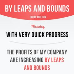 """By leaps and bounds"" - Repinned by Chesapeake College Adult Ed. We offer free classes on the Eastern Shore of MD to help you earn your GED - H.S. Diploma or Learn English (ESL) . For GED classes contact Danielle Thomas 410-829-6043 dthomas@chesapeke.edu For ESL classes contact Karen Luceti - 410-443-1163 Kluceti@chesapeake.edu . www.chesapeake.edu"