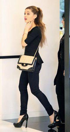 身長が低くてもOK!153cmのアリアナ・グランデに学ぶファッション術♡♡♡|マシマロ