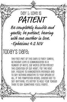 The Love Dare, going to try this with the hubby.