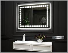 Oglinda baie Gloria cu iluminare  | Marmit - Obiecte sanitare