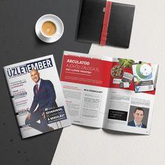 A cégarculat és logó, valamint a weboldal/webdesign tervezésén túl kiadványokat, magazinokat és könyveket is szerkesztünk.