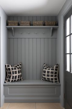 Back Porch/Mudroom/Boot Room Boot Room Storage, Porch Storage, Coat Storage, Hallway Storage, Extra Storage, Hallway Bench Seat, Wall Storage, Mudroom Laundry Room, Laundry Room Design