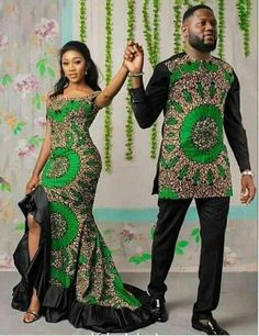 African Couple/Couple Outfit/Couple/Family Set/Husband and Piece Set/Couple Set/Couple Wear/Couple Gift/Couple Shower/African set - African fashion Couples African Outfits, Latest African Fashion Dresses, African Dresses For Women, African Print Fashion, Ankara Fashion, Modern African Dresses, Modern African Fashion, Nigerian Fashion, African Women