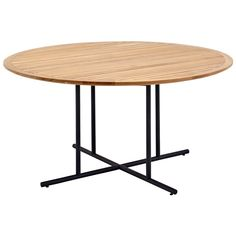 Gloster Large Whirl Round Teak Outdoor Dining Table   7530   £2,378.00