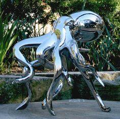 Todd Stuart #Sculpture #Tentacles #Octopus