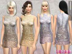 Sims 4 CC's - The Best: Dress by sims2fanbg
