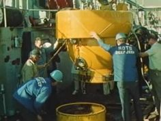 """Submersibles: """"Footprints in the Sea"""" 1965 US Navy, Soucoupe, Deep Jeep, Moray, CURV: http://youtu.be/edQO-06rE_U #sub #submarine #submersible"""