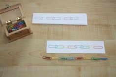 Counting Coconuts: Pattering With Paper Clips