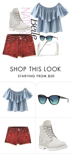 """""""Natural Belle"""" by briar-valiant on Polyvore featuring Chicnova Fashion, Tiffany & Co., Timberland and Michael Kors"""
