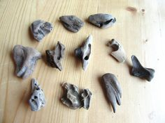 Driftwood Lot of 10 1 inch and under Beautiful Driftwood approx. and under for JEWELRY, can be used for driftwood necklaces or earrings Driftwood Jewelry, Driftwood Art, Pink Ladybug, Beach Rocks, Plant Holders, Handmade Items, Necklaces, Canning, Pacific Coast