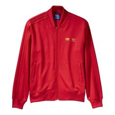 Adidas and their 50 shades of Supercolour Superstar get a capsule of accompanying track jackets.   £60
