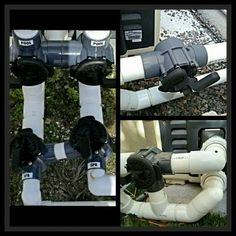 What is a heater bypass? This article explains what it is and how your own heater bypass valves should be set. Swimming Pool Heaters, Swimming Pool Chlorine, Swimming Pool Maintenance, Pool Water, Pool Solar Panels, Solar Pool Heater, Patio Heater, Redneck Pool, Pool Pumps And Filters
