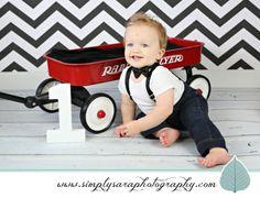 One Year Old Boy Photo Ideas
