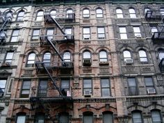 Lower East Side Historic District in Manhattan below 14th Street, New York.