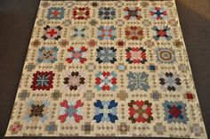 COLOURS AND FABRICS: POTC( Patchwork of the crosses)