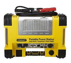Stanley RHINO 500W Digital PowerStation w/ Jump Starter & Air Compressor