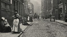 The Real Whitechapel Street was so dangerous that police dare not enter in no less than groups of four.
