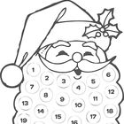 Free Printable Santa Countdown,This quick printable is the perfect little countdown for toddlers. Give them some stickers or a marker pen and allow them to check off each day. Santa Countdown, Christmas Countdown, Christmas Projects, Winter Christmas, Christmas Holidays, Countdown Calendar, Christmas Calendar, Christmas Christmas, Preschool Christmas
