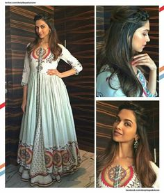 Desi diva deepika padukone wearing the most gorgeous outfit