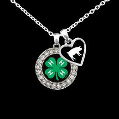 Hey, I found this really awesome Etsy listing at https://www.etsy.com/listing/188173117/stockshow-animal-ffa4-h-charm-necklace