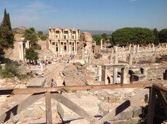 Efes ancient City of ephesus-Selçuk-İzmir/Turkey