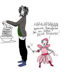 Maman, transforme-toi en super belle princesse ! par Margaux Motin