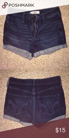Hollister high waist jean shorts | High waist jeans shorts, Light ...