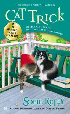 Kathleen Paulson enjoys her life as a small-town librarian with two extraordinary cats, Owen and Hercules, who provide companionship during the quiet times and have a remarkable talent for sleuthing w