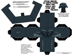 Cubee FAMILY GUY STAR WARS Stewie as Vader 1/2 by njr75003.deviantart.com on @deviantART