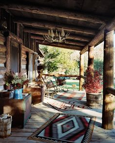 Cabin Porch.