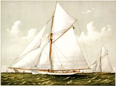 Click on image to enlarge This is a wonderful antique sailboat graphic from a very old print! A little something in honor of the Dads who like to sail, or who just enjoy the ocean. Happy Father's Day to all of the Dads out there! Share