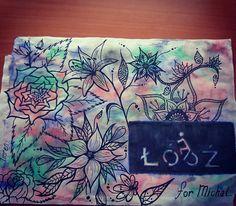 #lodz #illustration #watercolour #drawing