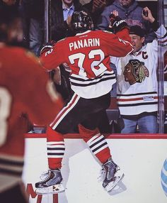 Panarin, I'm sorry I call you Panera. But you are good.
