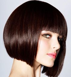 Short Straight Hair | 2013 Short Haircut for Women Ex: of cut(shape) I don't want. LOVE the Color and SHINE!