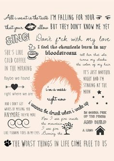 Estampas Coleção Ed Sheeran on Behance