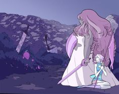 Diamante Rosa y Perla