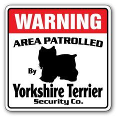 """This is a brand new 10""""x10"""" Dog Security Sign. This sign is made with an exterior grade PVC plastic and printed with the best inks in the industry. Perfect for outdoor use for over 5 years or will look great inside. No rusting or fading indoors or out!! The sign come with round corners and 2 holes for easy mounting. This item is in stock and ready to ship, generally the following business day. Please check out all our other signs, they make the perfect gift for any occasion."""
