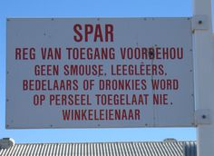 Afrikaanse grappe - South African humour