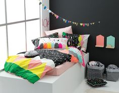 Cotton On Kids Bedding - Colourful Bedroom