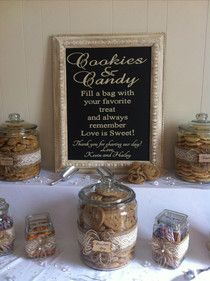 A Little Bit Crafty: Cookie and Candy bar
