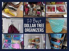 20 BEST DOLLAR TREE ORGANIZERS - YouTube