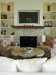 Traditional Living Room Built In Bookcase Design, Pictures, Remodel, Decor and Ideas - page 2