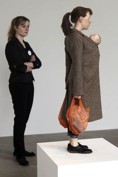Hyper-Realistic Sculptures Of Gigantic & Miniature People- Ron Mueck