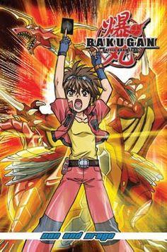 Bakugan Battle Brawlers Ani-Manga 4: Dan & Drago